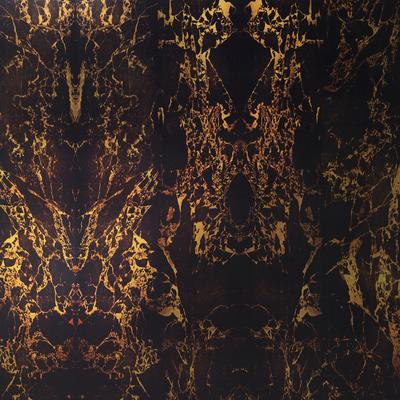 Black Metallic Marble Wallpaper by Piet Hein Eek image 2