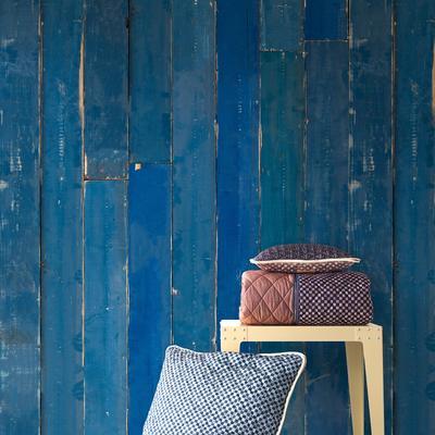 Blue Scrapwood Wallpaper image 2
