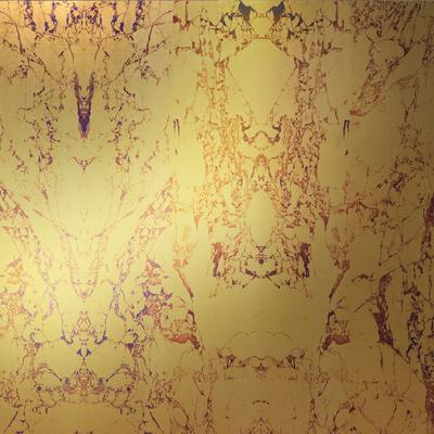 Gold Metallic Marble Wallpaper by Piet Hein Eek image 2