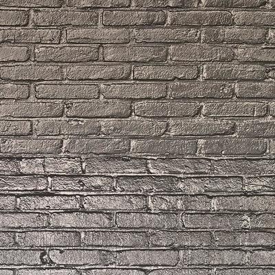 Silver Grey Brick Wallpaper by Piet Hein Eek image 2