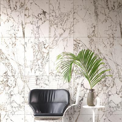 White Marble Wallpaper by Piet Hein Eek image 3