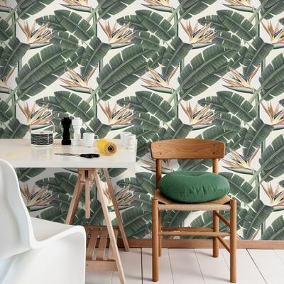 Tropical Bloom Wallpaper