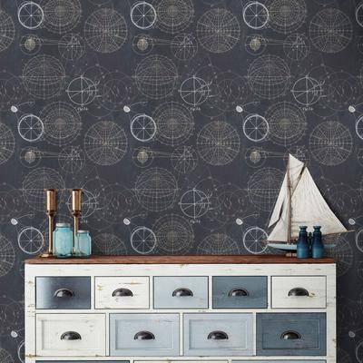 Astronomy Blue Wallpaper
