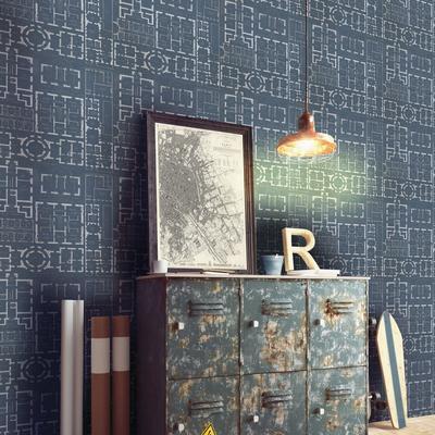 Chateau Bleu Wallpaper