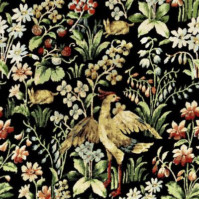 Floral Tapestry Wallpaper image 2