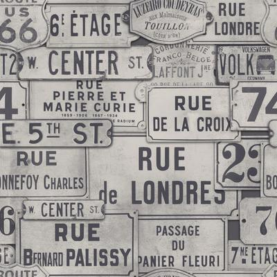 Vintage Signs Wallpaper