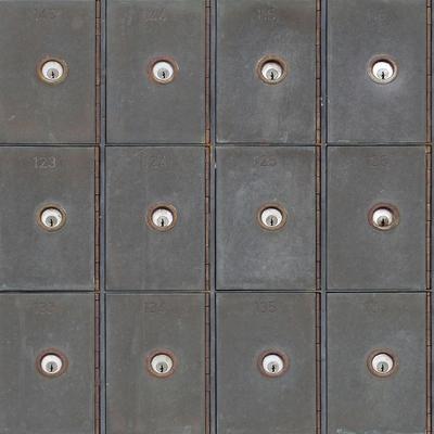 Industrial Metal Cabinets Wallpaper image 2