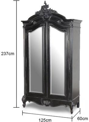 Double Fronted Armoire image 2