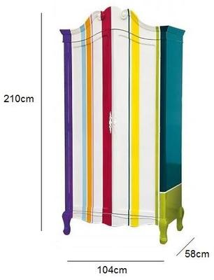 Seletti Contemporary Armoire - Polka Dot, Stripes or Cartoon image 7
