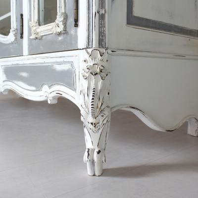 Large Glass-Fronted French Armoire image 3