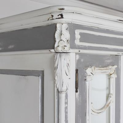 Large Glass-Fronted French Armoire image 4