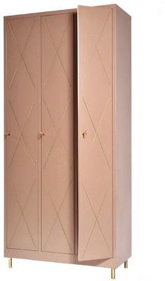 3 Door Art Nouveau Wardrobe image 9
