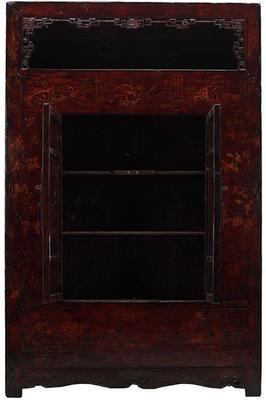 Large Shanxi Painted Armoire image 2