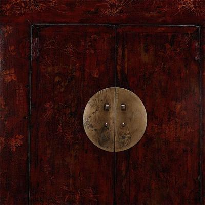Large Shanxi Painted Armoire image 3