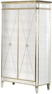 Venetian Antique Mirrored Wardrobe image 5
