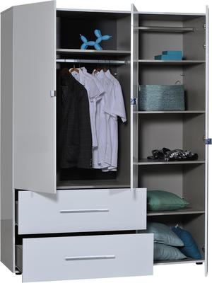 First 3 door 2 drawer wardrobe image 2