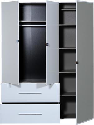 First 3 door 2 drawer wardrobe image 4