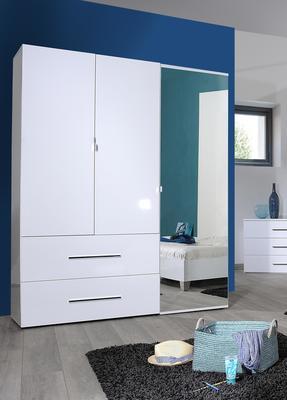 First 3 door 2 drawer wardrobe image 5
