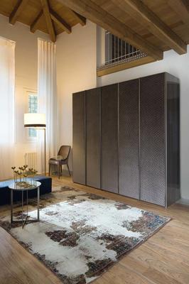 Elysee 5 door (fabric) wardrobe