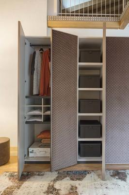 Elysee 5 door (fabric) wardrobe image 3