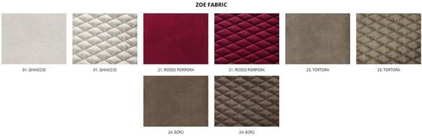 Elysee 5 door (fabric) wardrobe image 5