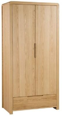 Lisboa 2 door 1 drawer wardrobe