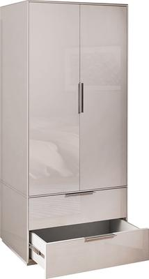 Smart Pure White Gloss Wardrobe image 6