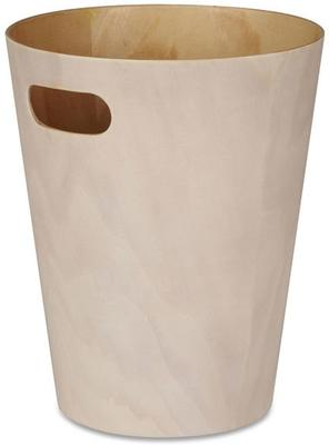 Umbra Woodrow Waste Bin (White)