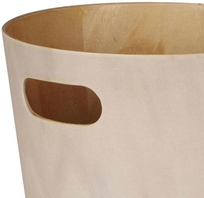Umbra Woodrow Waste Bin (White) image 2