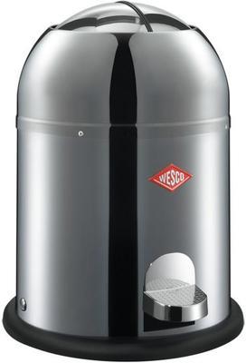 Wesco Kickmaster Bath Bin - Stainless Steel