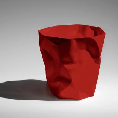 Essey Red Bin Bin Paper Bin [D] image 3