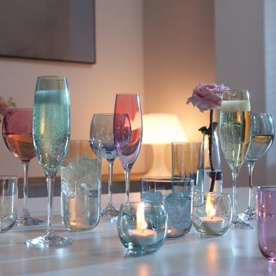 LSA 4 x  Polka Wine Glasses image 3