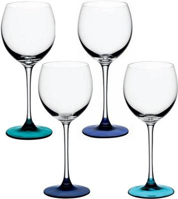 LSA Coro Wine Glasses - Lagoon