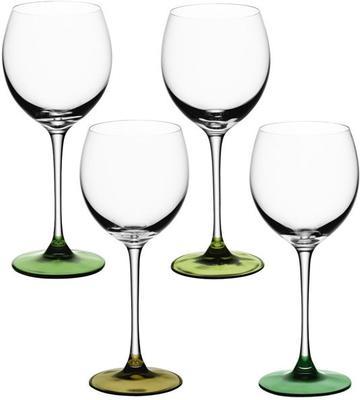 LSA Coro Wine Glasses - Leaf