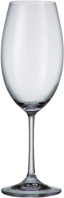 Set Of 6 Bohemia Crystal Barbara Collection Red Wine Glasses 510ml