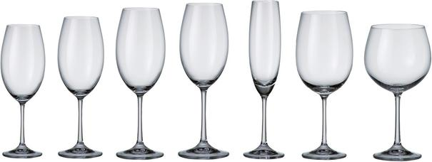 Set Of 6 Bohemia Crystal Barbara Collection Red Wine Glasses 510ml image 2
