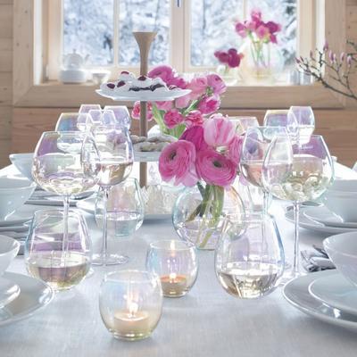 LSA Pearl Wine Glasses - Set of 4 image 4