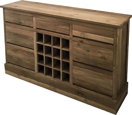 The Tanak Reclaimed Wooden Wine Rack