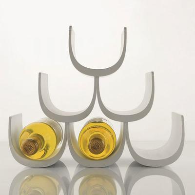 Alessi Noe Wine Bottle Holder - White