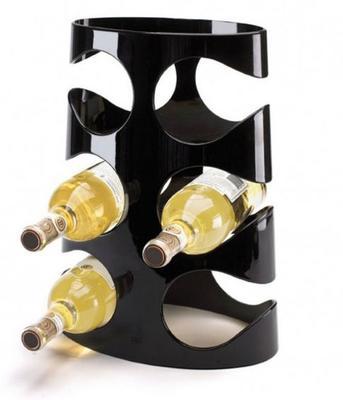 Umbra Grapevine Wine Rack 6 Bottles - Black
