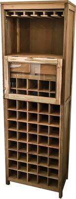 Anjeman Reclaimed Wood Wine Rack