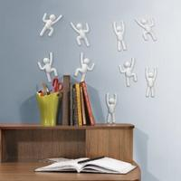 Umbra Climber Wall Art White