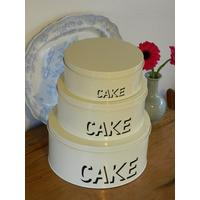 Set of 3 Stacking Cake tins