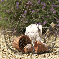 Oval Wire Basket - Medium