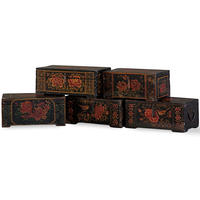 Shanxi Black Painted Box