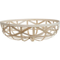 wide bamboo basket (1 left)