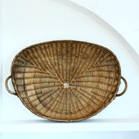 rare wheat basket over 1 meter wide (vintage)