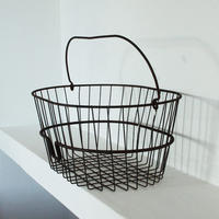 Vintage 1950's metal basket