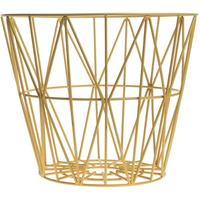 Wire Basket - Yellow