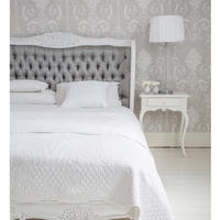 Bergerac Silk Upholstered Bed